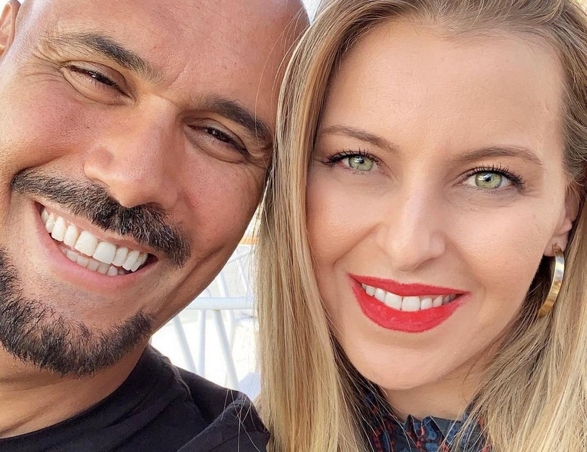 Δημήτρης Σκουλός: Είναι φουλ ερωτευμένος και το δείχνει! Οι φωτογραφίες με την σύζυγό του, Τζέλα