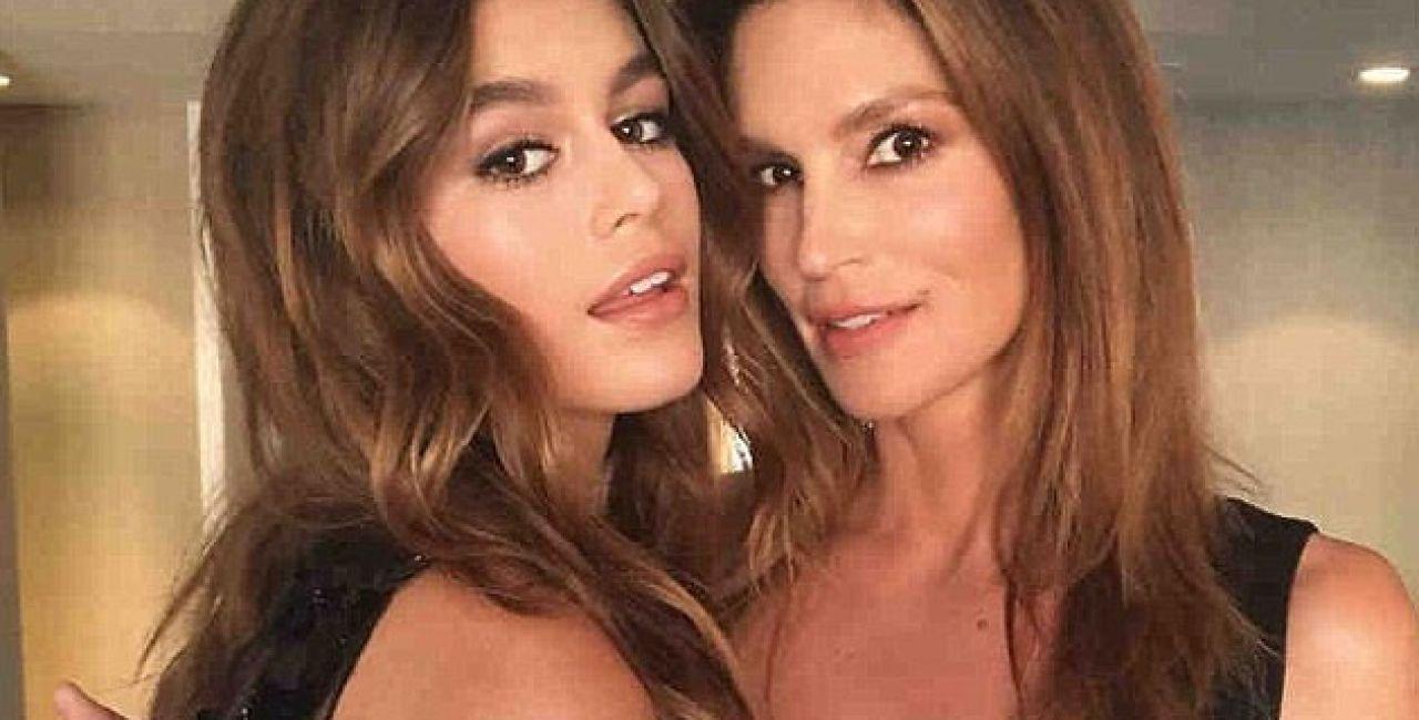 Σίντι Κρόφορντ: Γενέθλια για το supermodel - Με φωτογραφίες από την εφηβεία της, της ευχήθηκε η κόρης Κάια