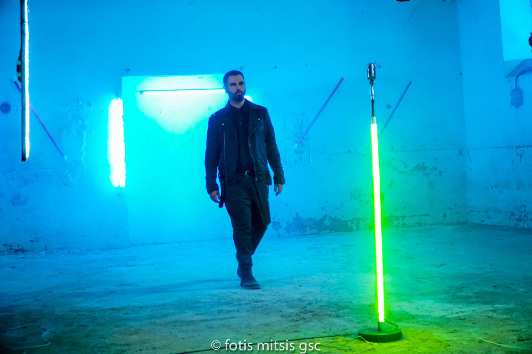 Γιώργος Παπαδόπουλος: backstage στα γυρίσματα του νέου του βιντεοκλίπ (φωτογραφίες)