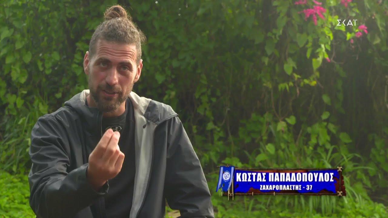 Survivor 4 - Κώστας Παπαδόπουλος: ο ζαχαροπλάστης του παιχνιδιού θα κάνει Πάσχα στο σπίτι του