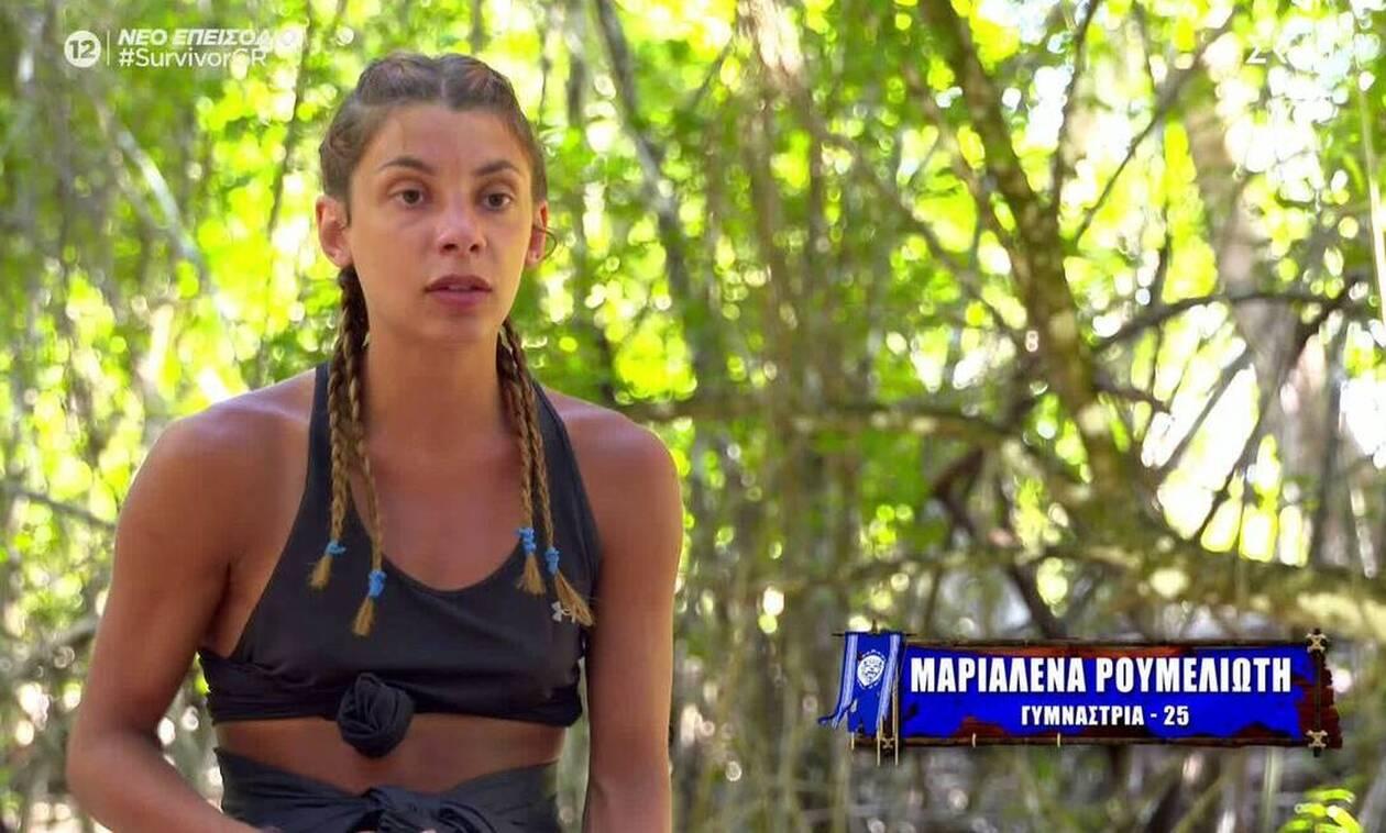 Survivor 4 - Μαριαλένα Ρουμελιώτη: «... Σάκη, πες στην κοπέλα σου ότι δεν θα έχει πια πολυθρόνα να ποζάρει»