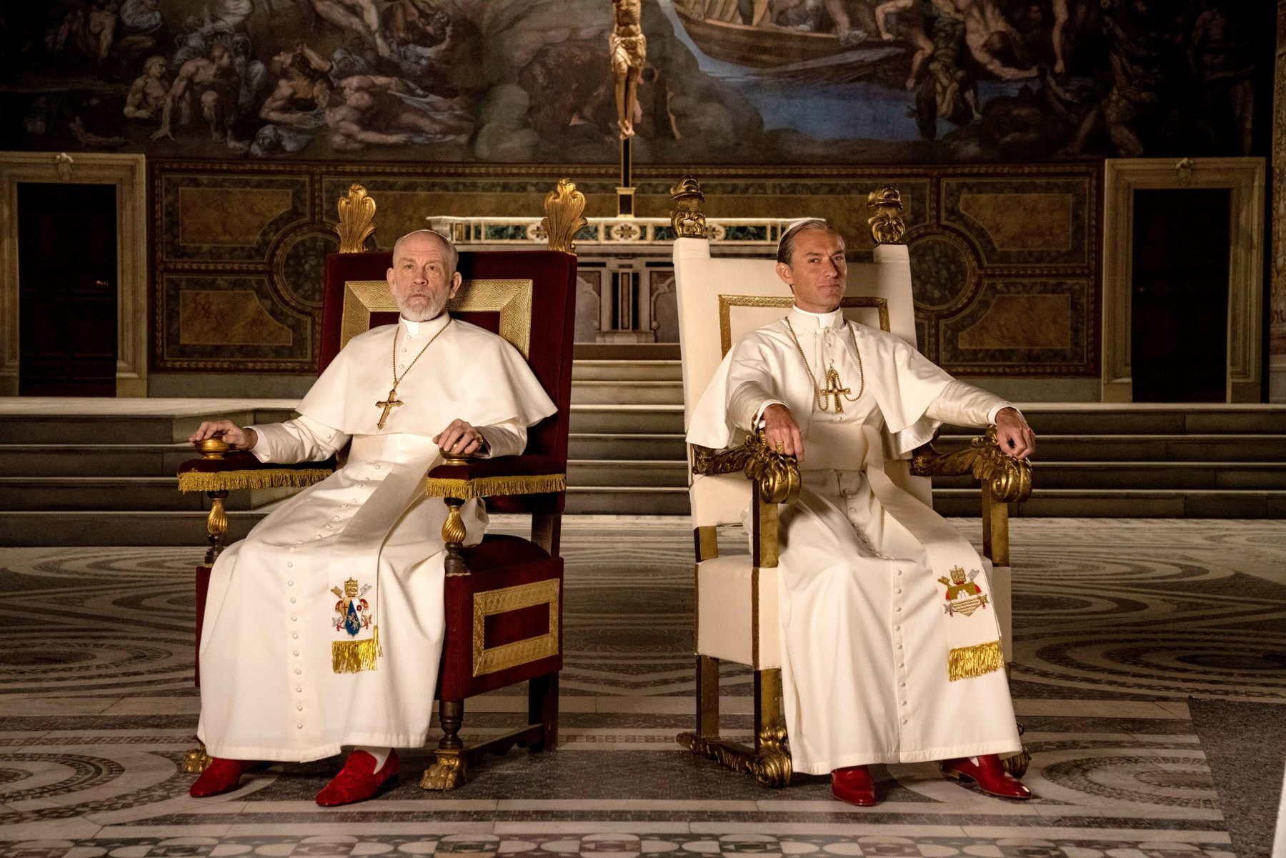 """Πρεμιέρα σημερα για την νεα τηλεοπτική σειρά της ΕΡΤ """"The new Pope"""""""