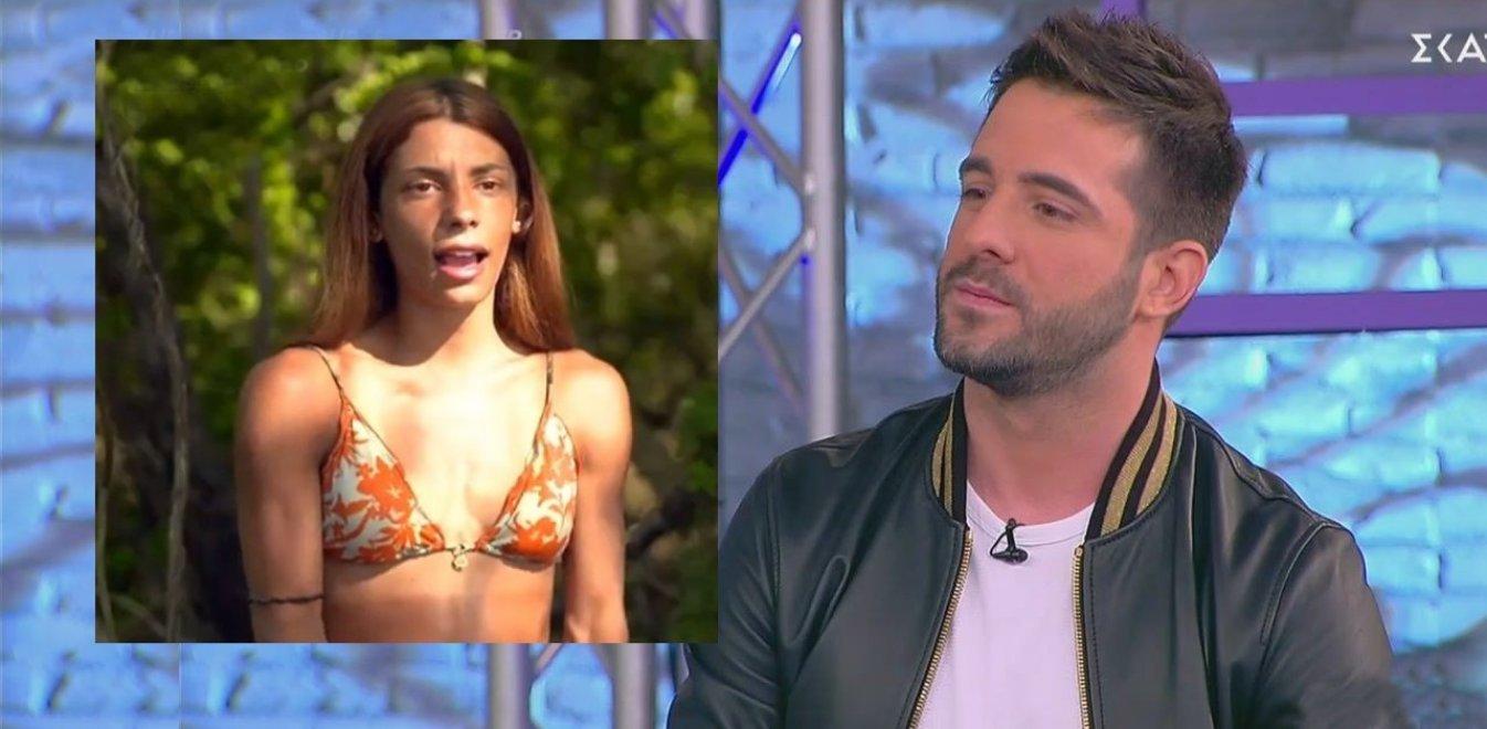 Πυρά κατά Λιβάνη: «Τον έμαθε όλη η Ελλάδα με το Survivor! Άμα θέλω να μη συζητάνε κάτι για μένα θα...»