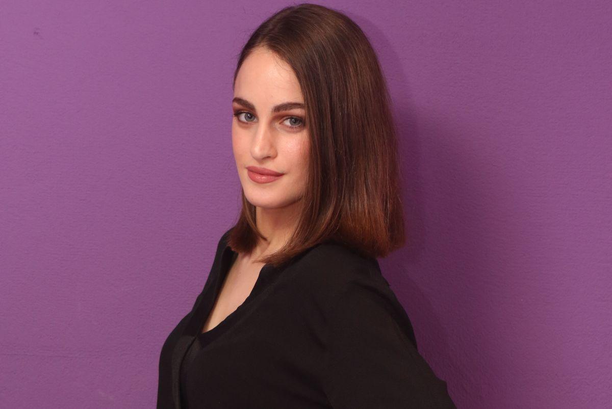 H Μαρία Βοσκοπούλου με total denim look που.. τα σπάει! [φωτογραφία]