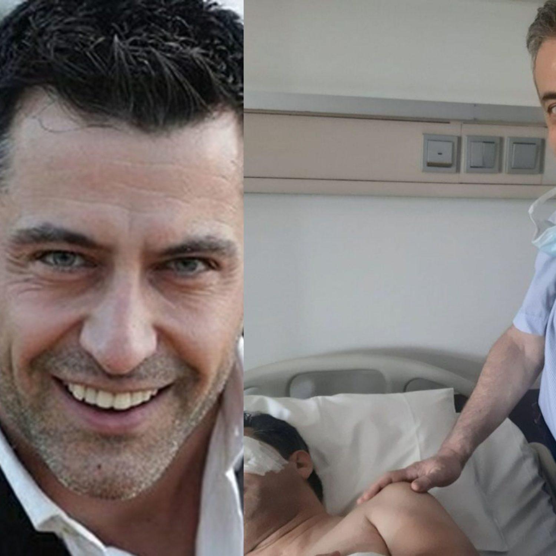 Κωνσταντίνος Αγγελίδης:Μπήκε ξανά στο χειρουργείο! Φωτογραφίες μέσα από το νοσοκομείο!