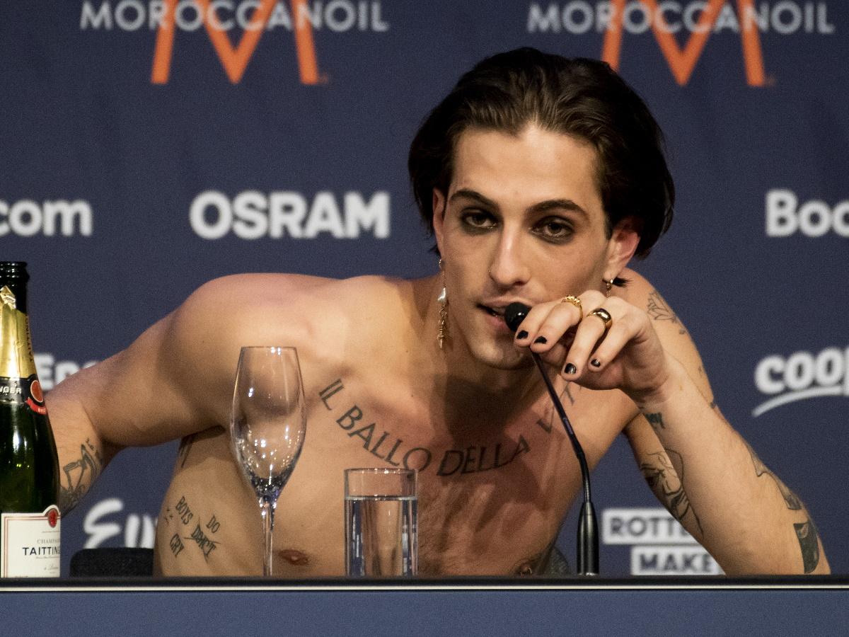 Νταμιάνο Νταβίντ: Αυτή είναι η «καυτή» σύντροφος του νικητή της Eurovision 2021 [φωτογραφίες]