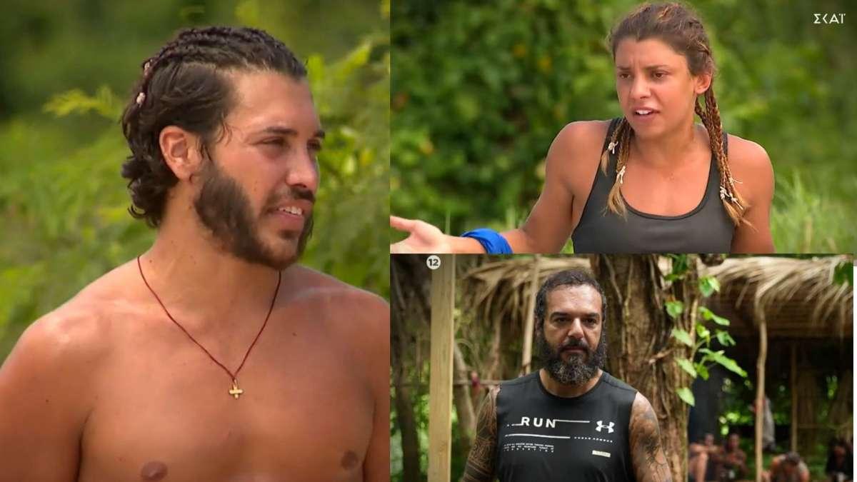 Survivor 4 spoiler: «Πλακώθηκαν» Ασημακόπουλος - Μαριαλένα!  «Άσε μας κουκλίτσα μου, θα μας πεις εσύ για κωλοτούμπες;» - Τους χώρισε ο Σάκης