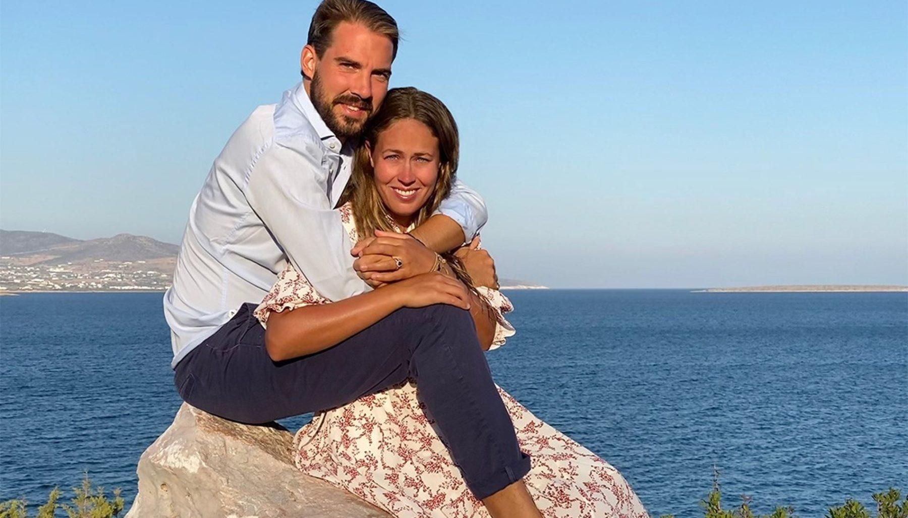 Πρίγκιπας Φίλιππος - Νίνα Φλορ : Δεύτερος γάμος και δεξίωση στην αγγλική επαρχία
