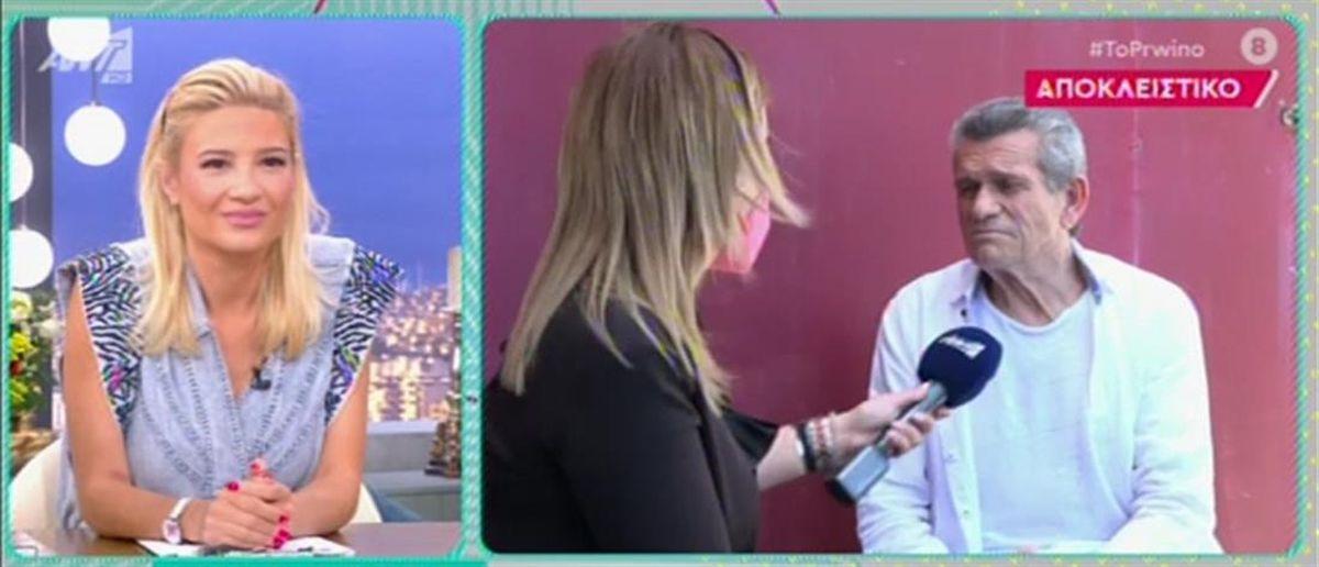 Γιώργος Μαργαρίτης: «Όταν ήμουν σε συναυλία και παρήγγειλα σουβλάκια, μου τα έφερε ο Τριαντάφυλλος»