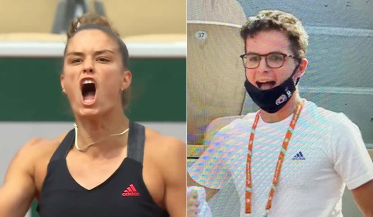 Ο Κωνσταντίνος Μητσοτάκης στο πλευρό της Μαρίας Σάκκαρη στο Roland Garros