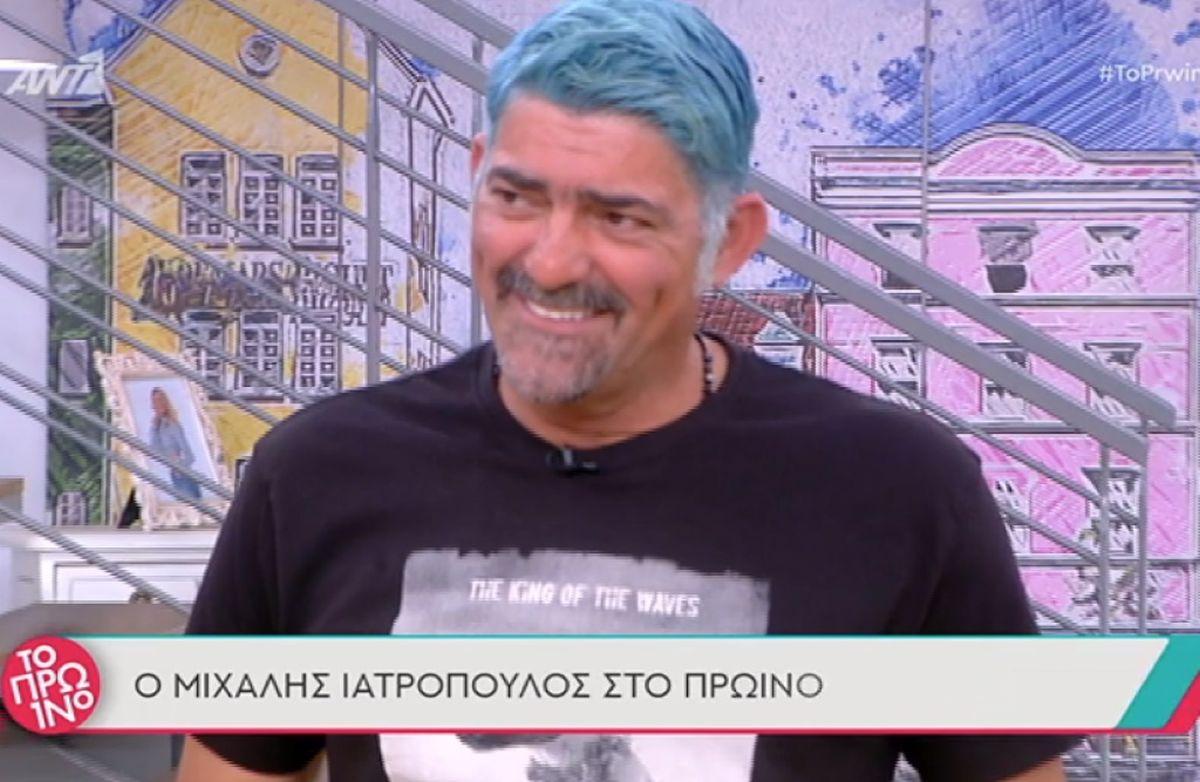 Μιχάλης Ιατρόπουλος: «Φαίη μου, δεν σε παρεξηγώ γιατί σε αγαπάω από παλιά, αλλά αν δεν ξέρουμε κάτι δεν το λέμε ελαφρά τη καρδία»
