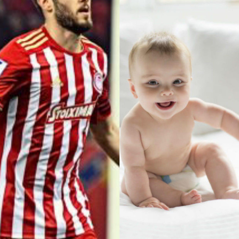 Πασίγνωστος Έλληνας ποδοσφαιριστής θα γίνει για πρώτη φορά μπαμπάς
