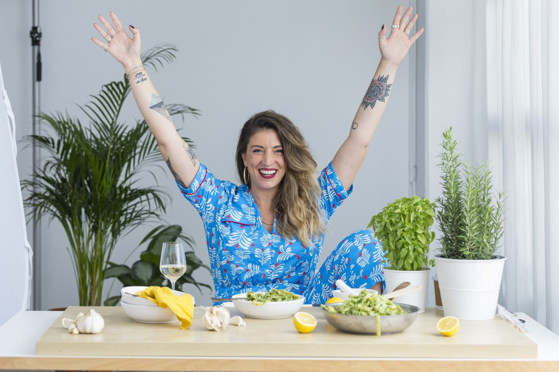 H «Madame Ginger» έρχεται στο OPEN με την πρώτη green μαγειρική εκπομπή της  ελληνικής τηλεόρασης