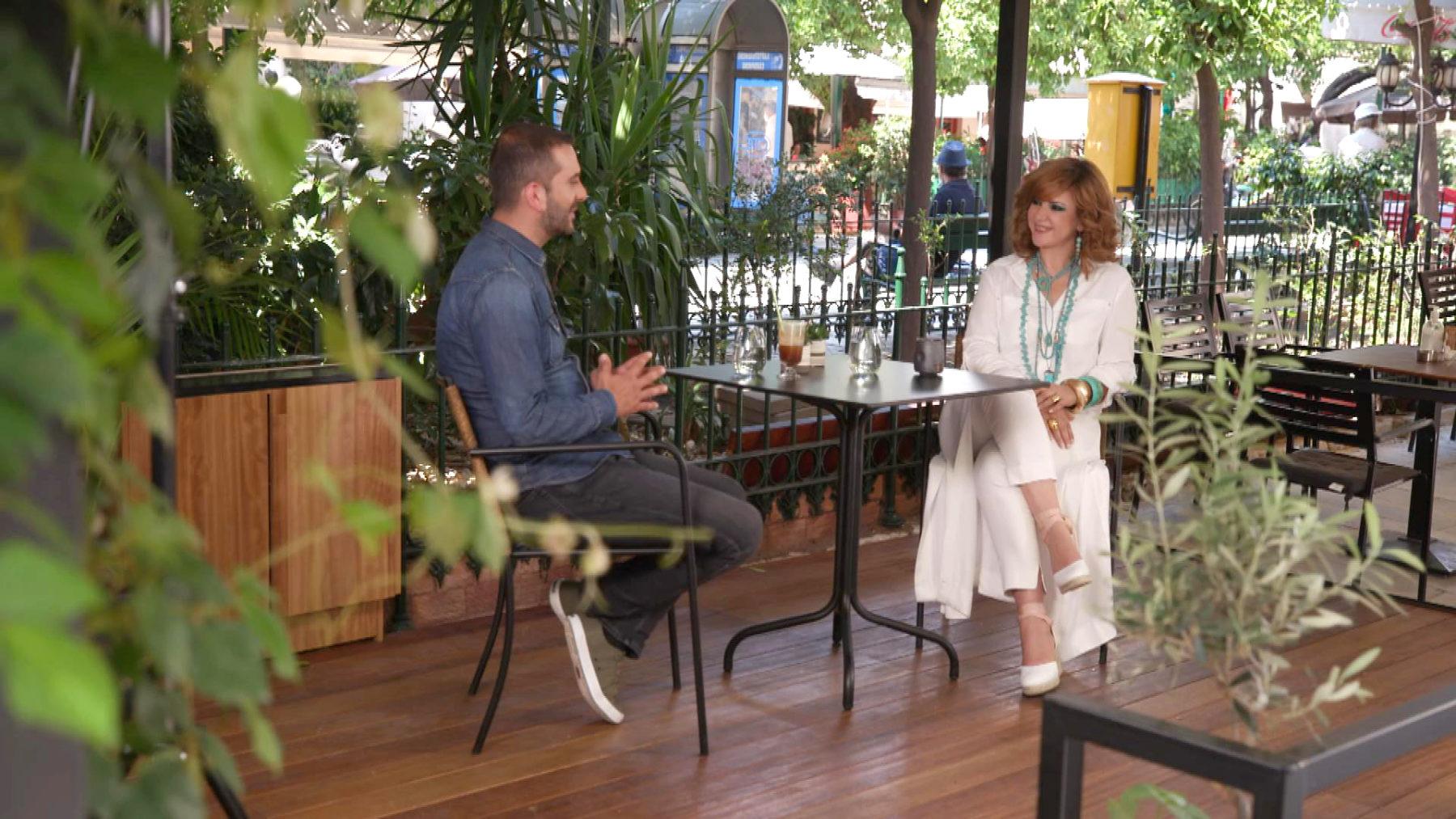 Ο Λεωνίδας Κουτσόπουλος : «Προσωπικά» με την Έλενα Κατρίτση