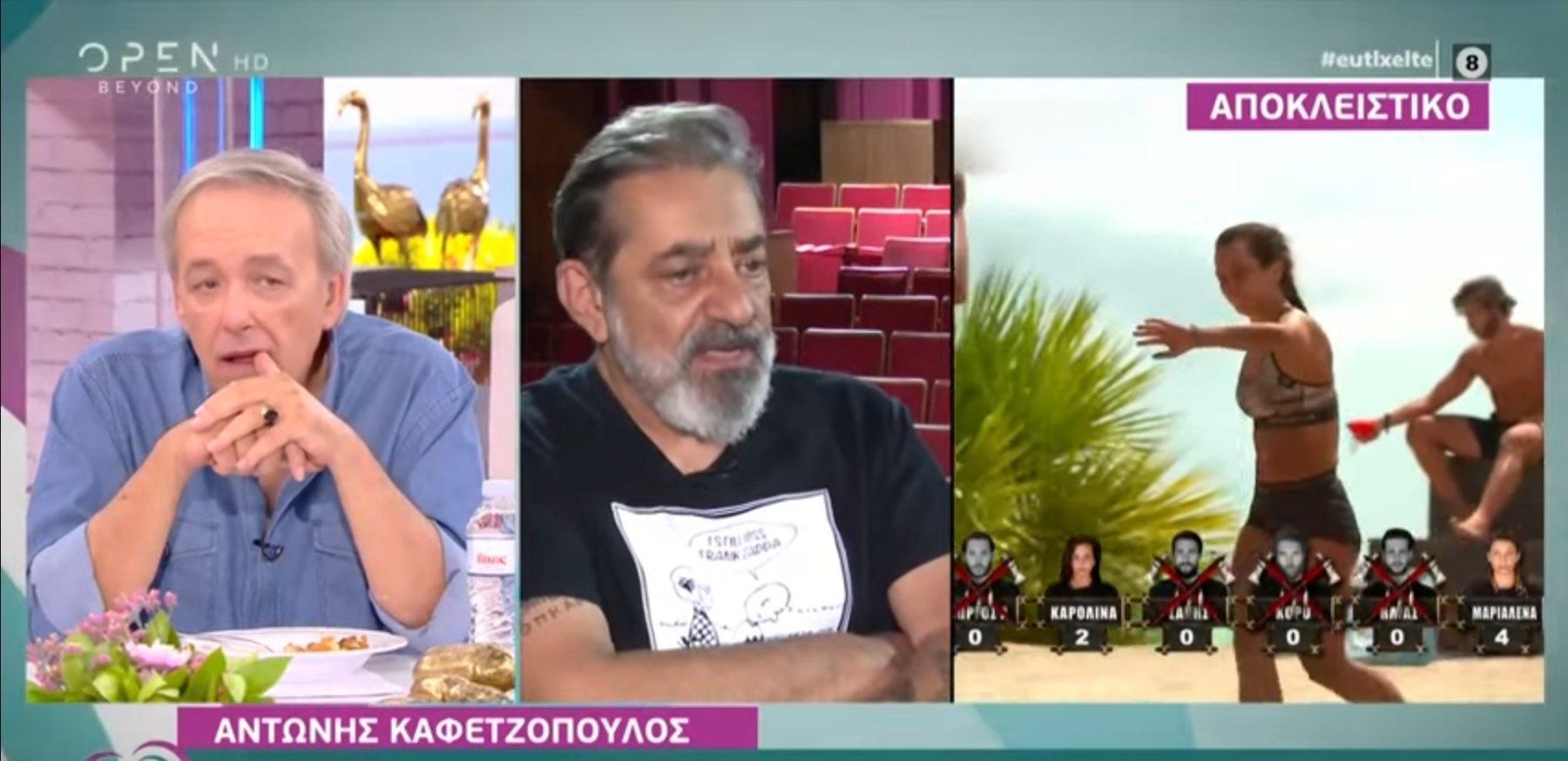 """Αντώνης Καφετζόπουλος: """"Η υποδοχή των παικτών από τα ριάλιτι έχει πλάκα,  δεν είναι τίποτα βαθύτερο"""""""