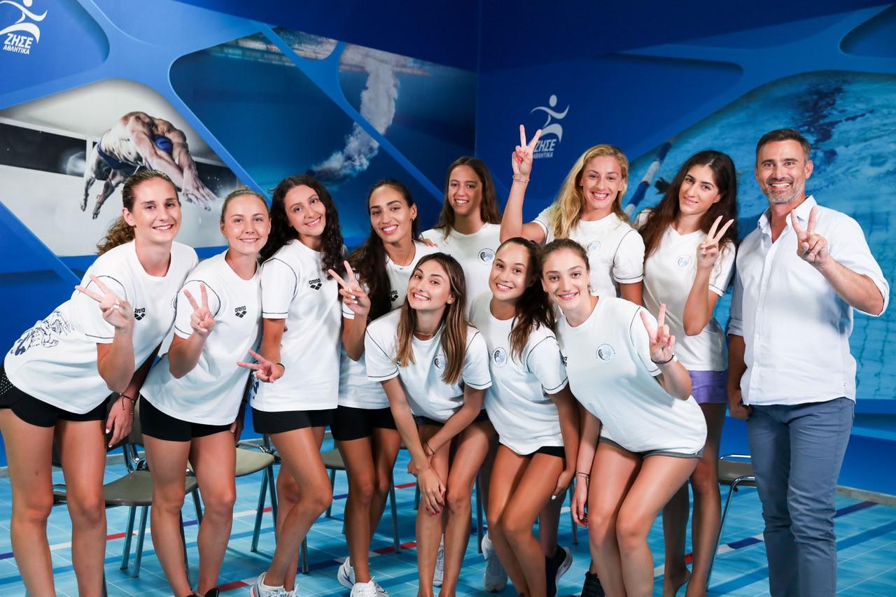 Το Ομαδικό της Καλλιτεχνικής Κολύμβησης στον «ΔΡΟΜΟ ΓΙΑ ΤΟ ΤΟΚΙΟ-Team Hellas»