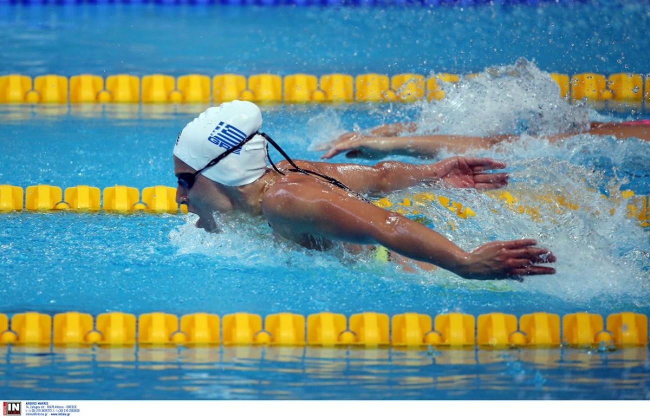Τόκιο 2020: η Άννα Ντουντουνάκη πέρασε στα ημιτελικά των 100μ πεταλούδα