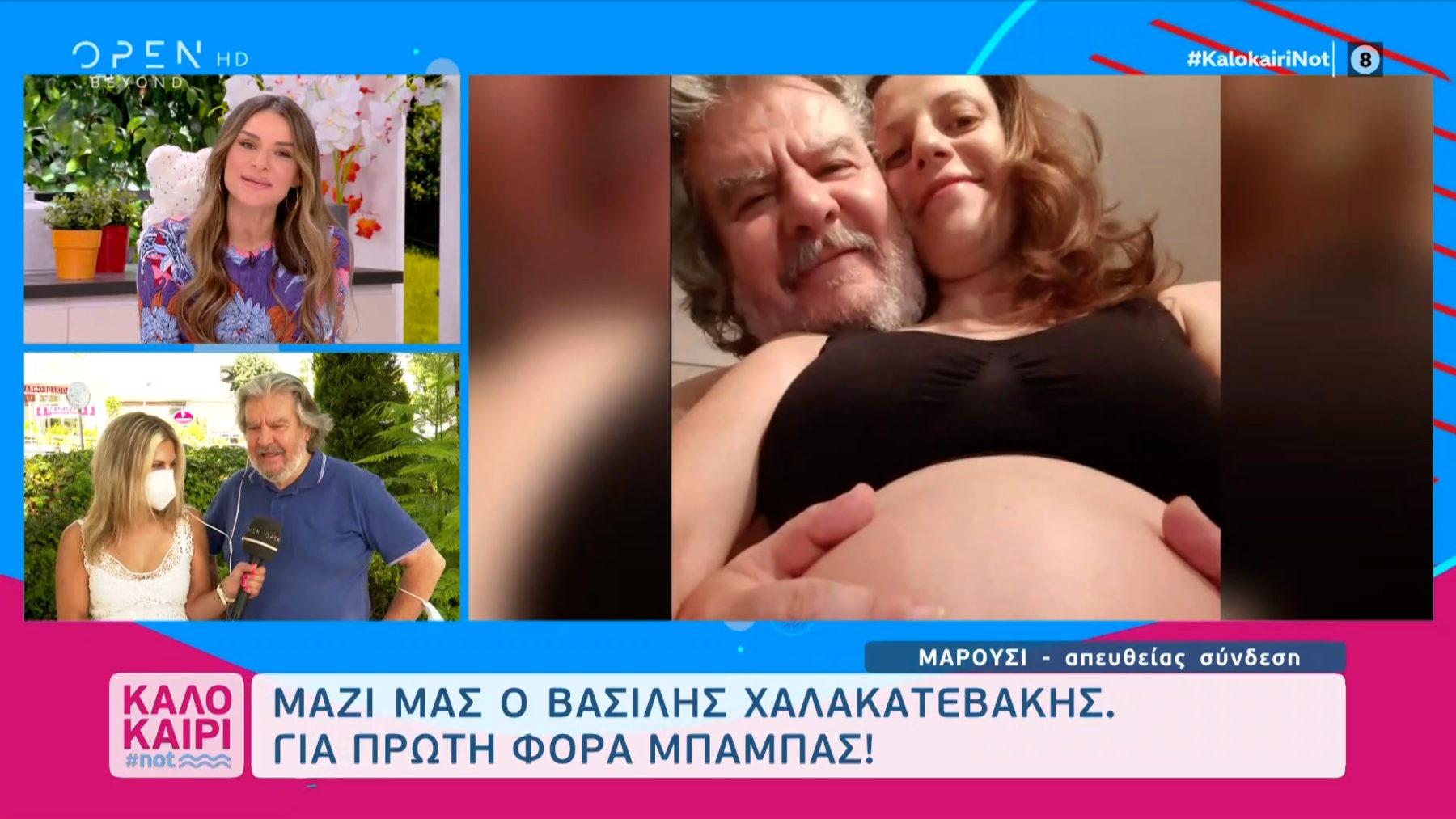 Βασίλης Χαλακατεβάκης: «Στους ρόλους είμαι 30 χρόνια πατέρας - Έχω εξοικειωθεί με τη λέξη πατέρας»