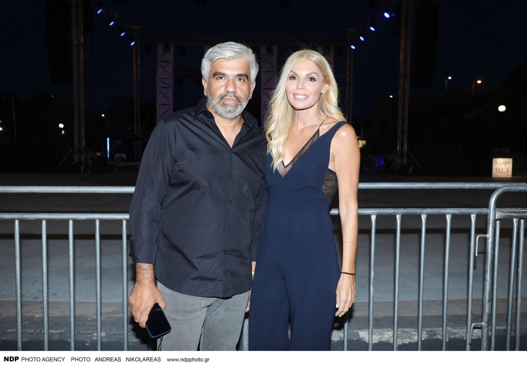 Βάσια Λόη – Νικόλας Μαδιάς: Σπάνια δημόσια εμφάνιση για το ζευγάρι