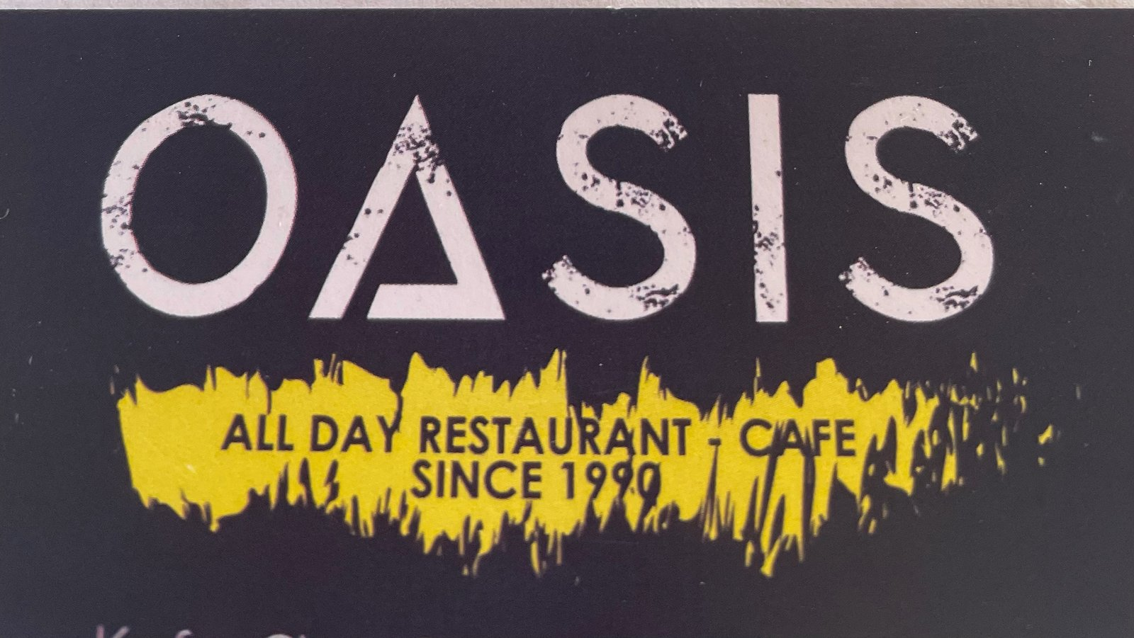 Oasis All Day Restaurant Cafe