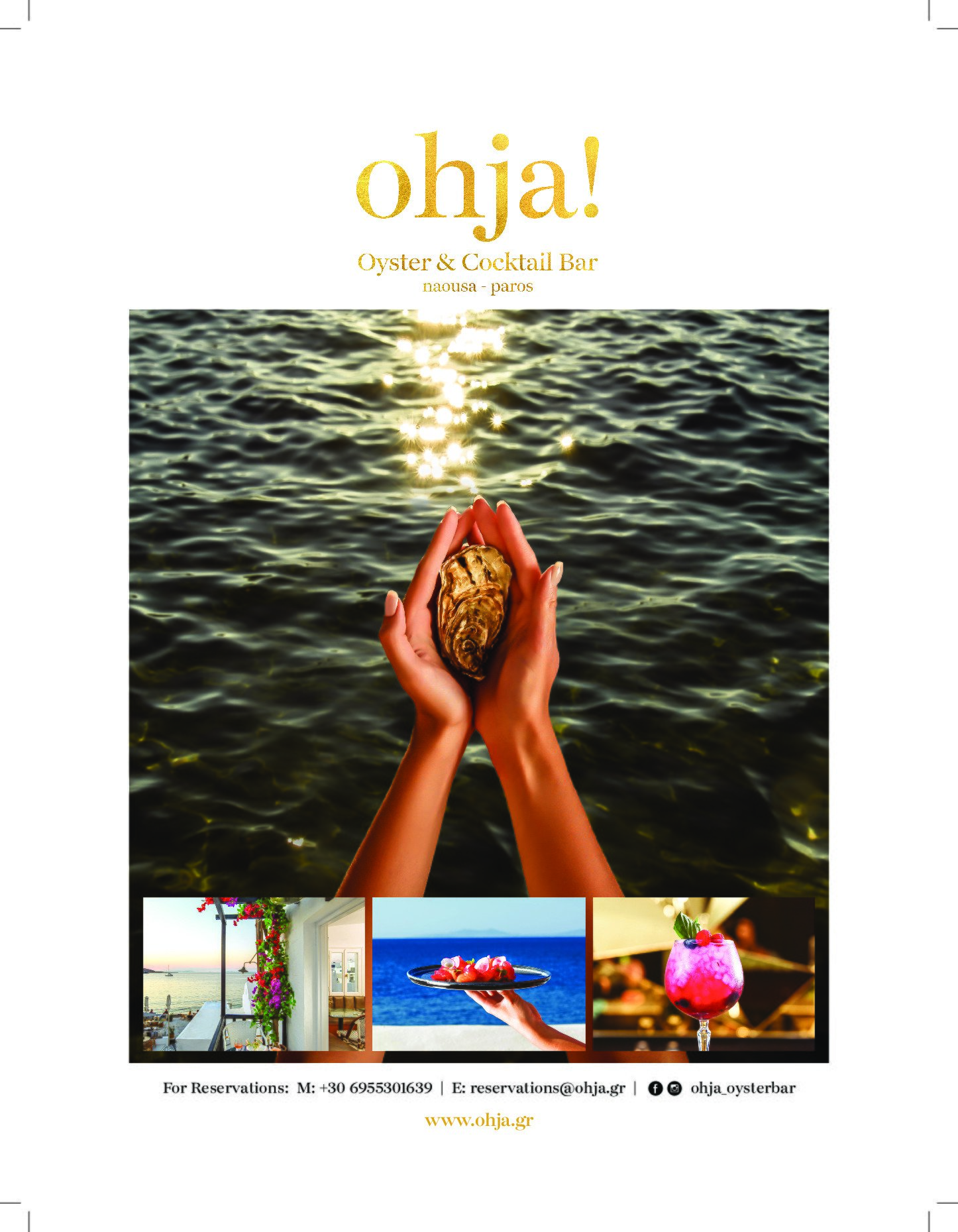 OHJA Oyster & Coctail Bar