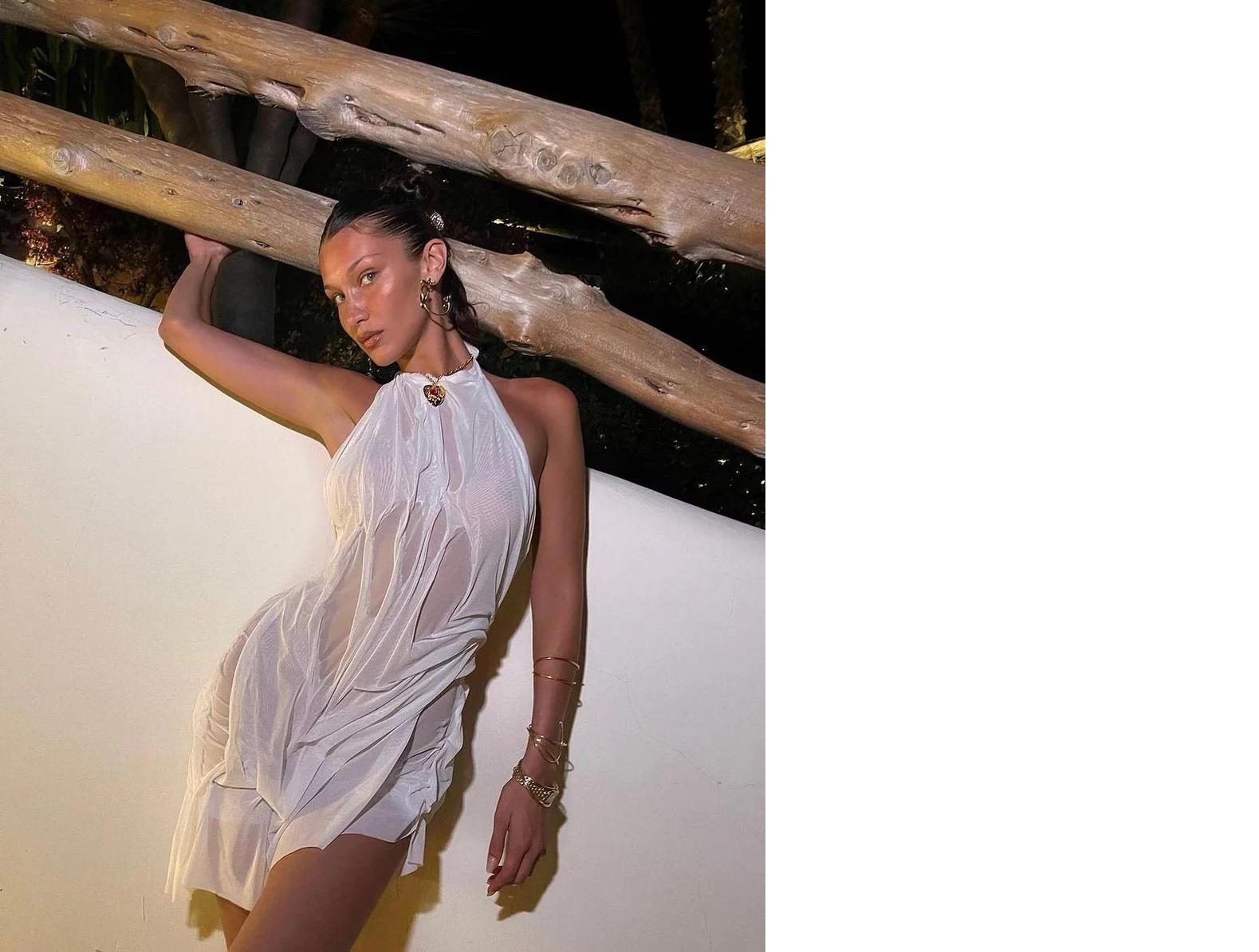 Η Μπέλα Χαντίντ επιμένει Ελληνικά