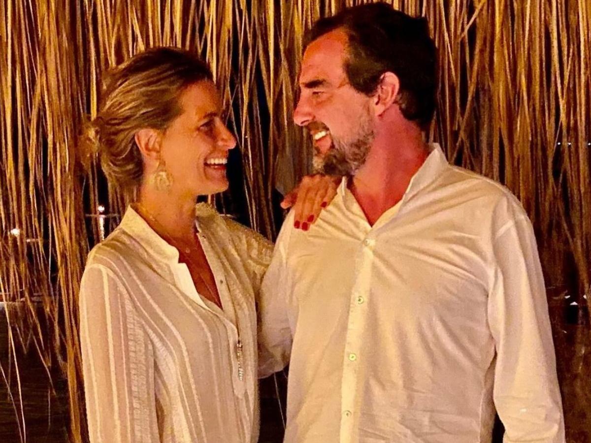 Νικόλαος Γλίξμπουργκ - Τατιάνα Μπλάτνικ: Oι αδημοσίευτες φωτογραφίες από τον γάμο τους με αφορμή την επέτειό τους