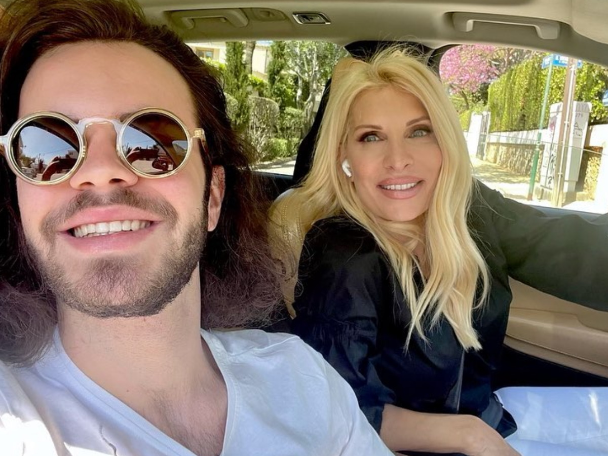 Άγγελος Λάτσιος: Η φωτογραφία του γιου της Ελένης Μενεγάκη στο instagram και το σχόλιο της Γαίας Μερκούρη