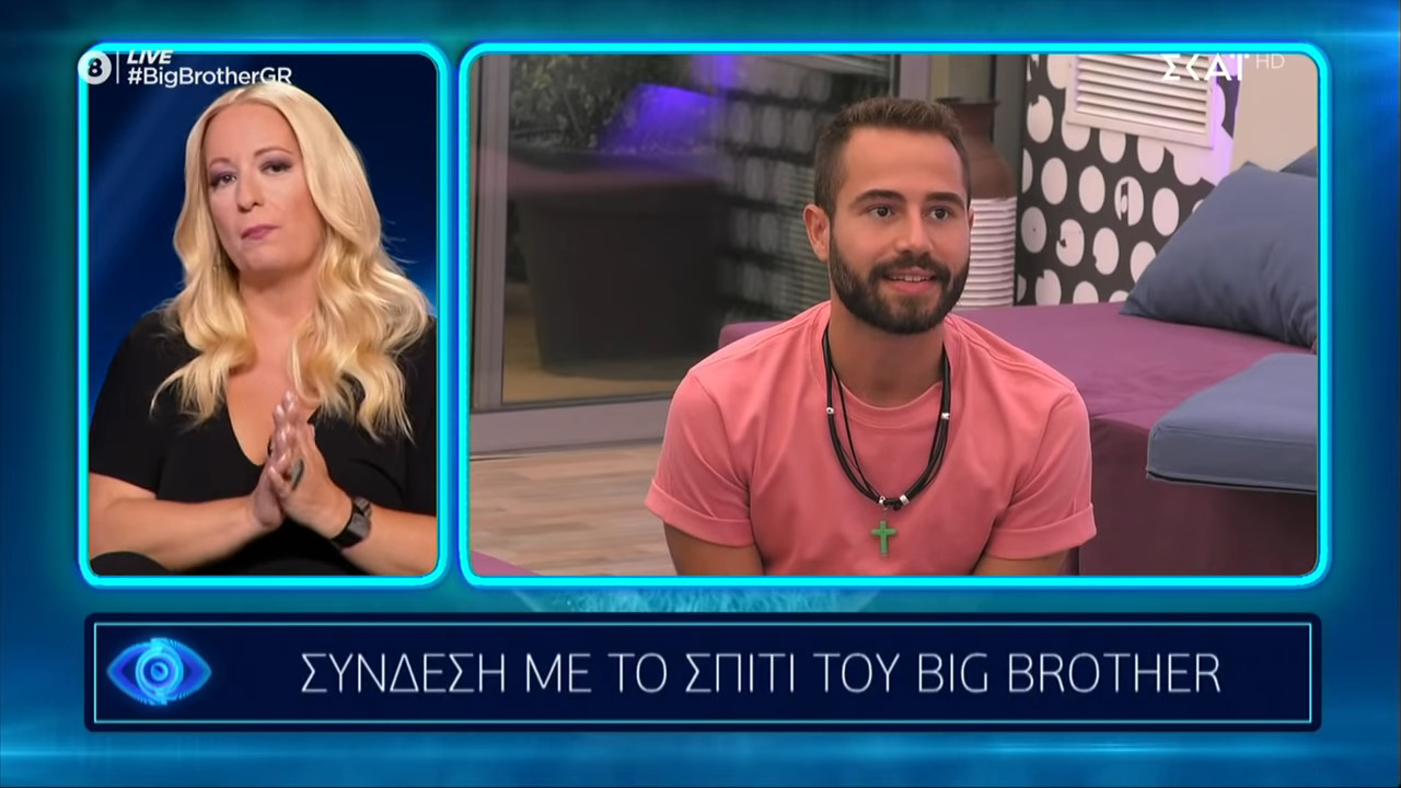 Big Brother 2 - Ισίδωρος Δούνης: ο ορισμός του «ψευτόμαγκα» και ο αντίλογος με τον Παναγιώτη Πέτσα (βίντεο)