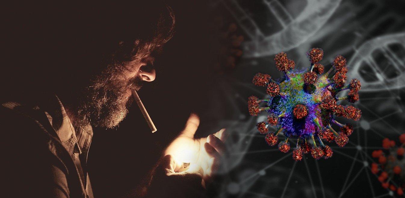 Κορονοϊός: οι καπνιστές κινδυνεύουν περισσότερο ή όχι;