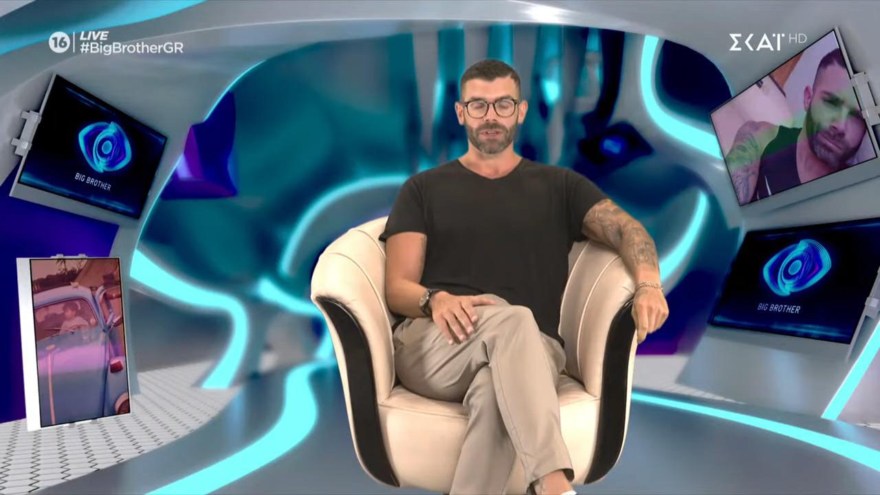 Big Brother 2 - Νίκος Τσιρλής: «Η ίντριγκα με φτιάχνει - Οι φίλοι με φωνάζουν φίδι»