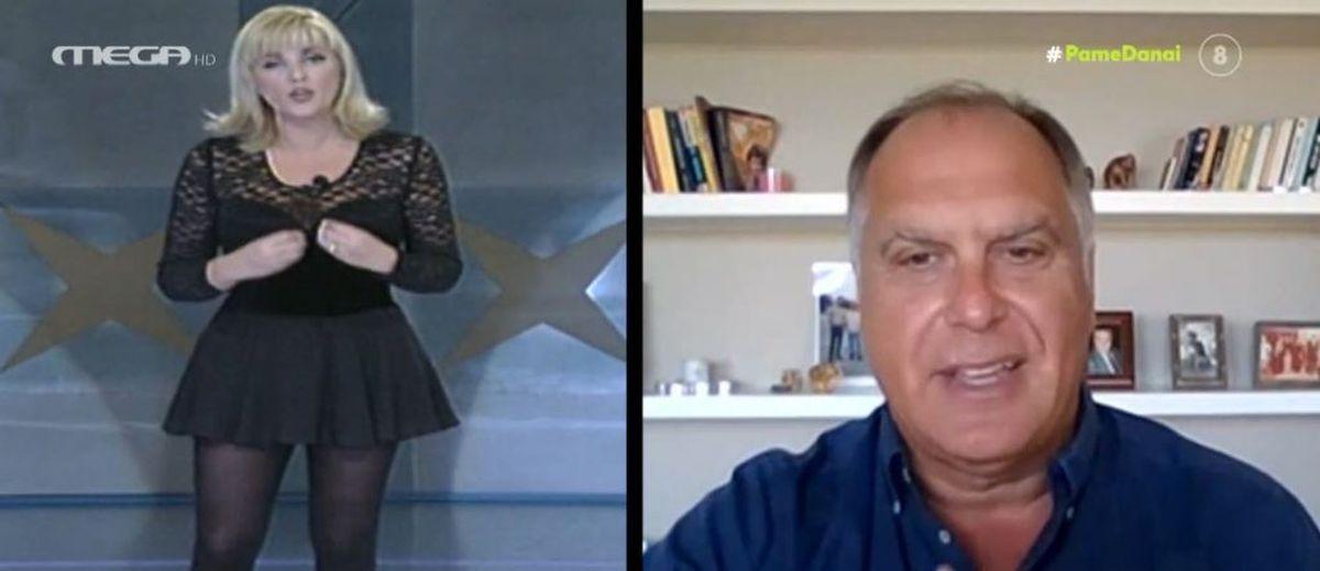 Στέφανο Σαρτίνι: «Πολέμησα για να γίνει παρουσιάστρια η Ρούλα Κορομηλά, ήμουν ο μόνος που το ήθελε»