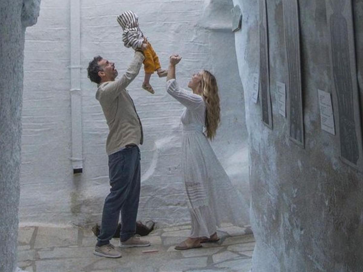 Γιώργος Χρανιώτης – Γεωργία Αβασκαντήρα: Νέες φωτογραφίες από τη βάφτιση του γιου τους