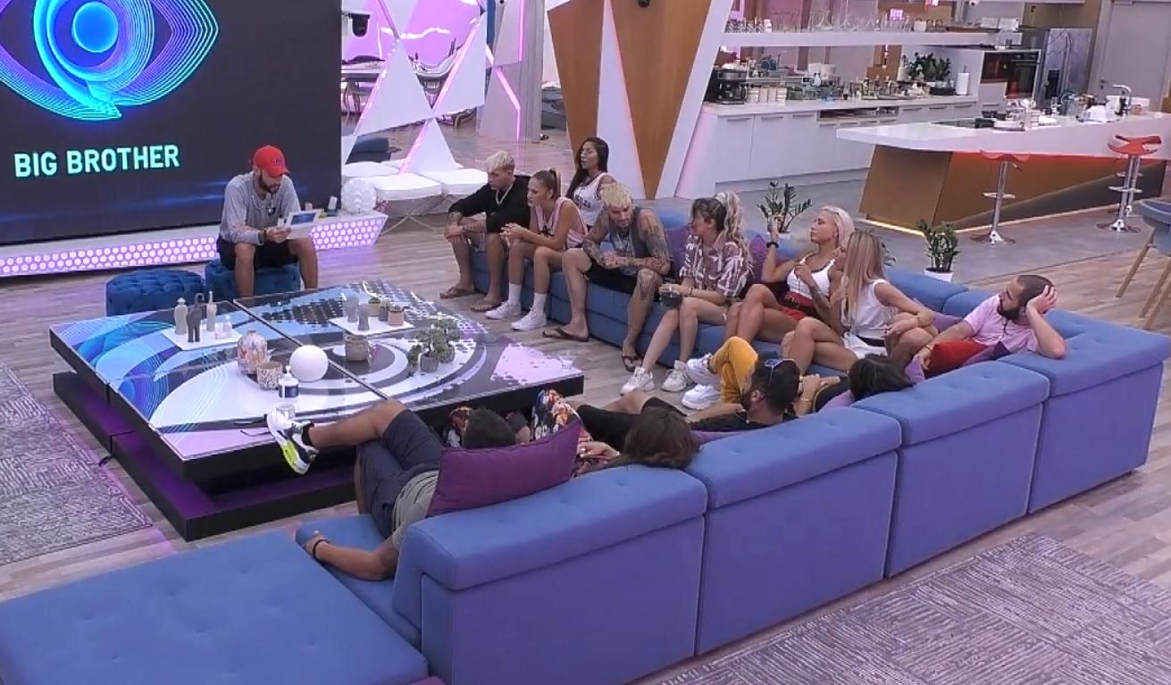 Big Brother : ΗΜαίρηκαι οSteveφαίνεται να έχουν κάνει ανακωχή
