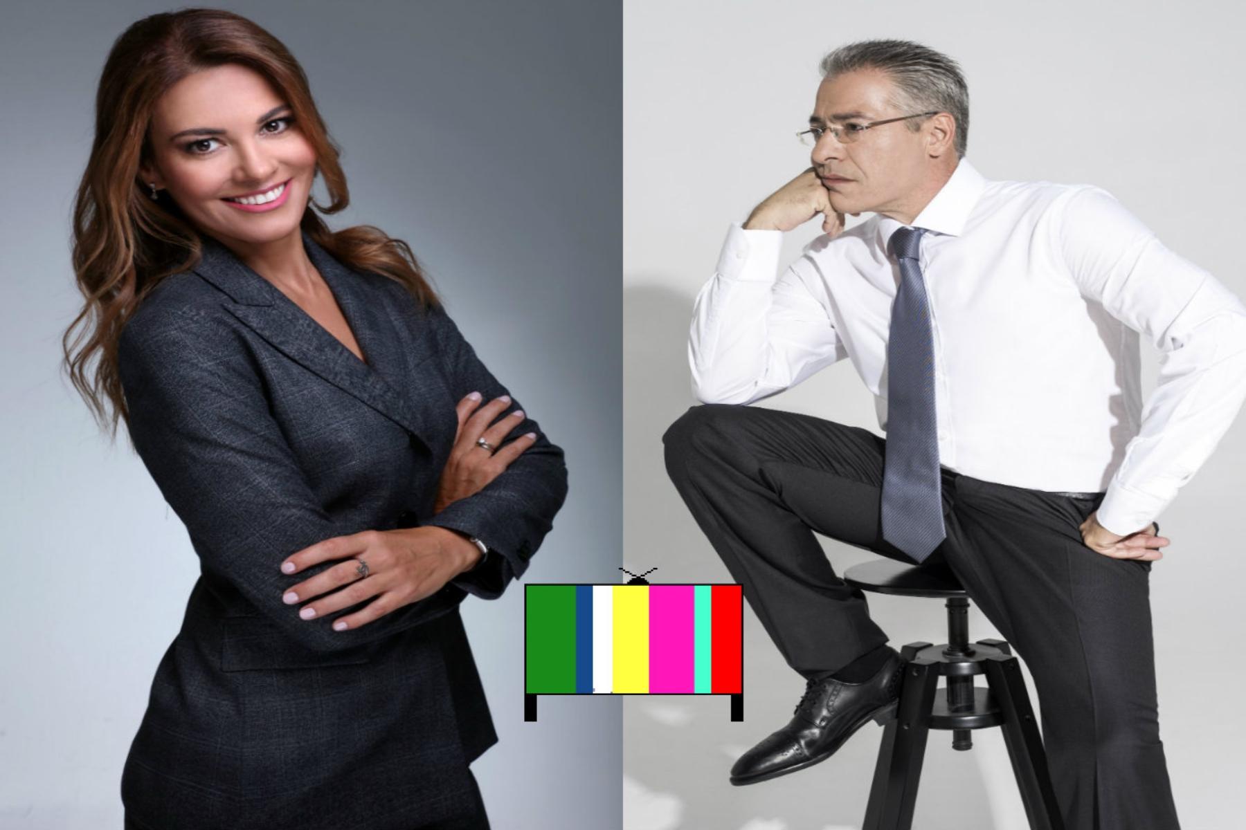Νίκος Μάνεσης - Φαίη Μαυραγάνη: ετοιμάζεται νέος «γάμος»! Το ζευγάρι τη νέα σεζόν κάτω από την ίδια τηλεοπτική στέγη;