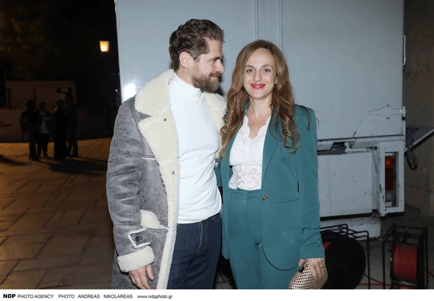 Σασμός: Βραδινή έξοδος για τον Δημήτρη Λάλο και την σύζυγό του στο Ηρώδειο [φωτογραφίες]