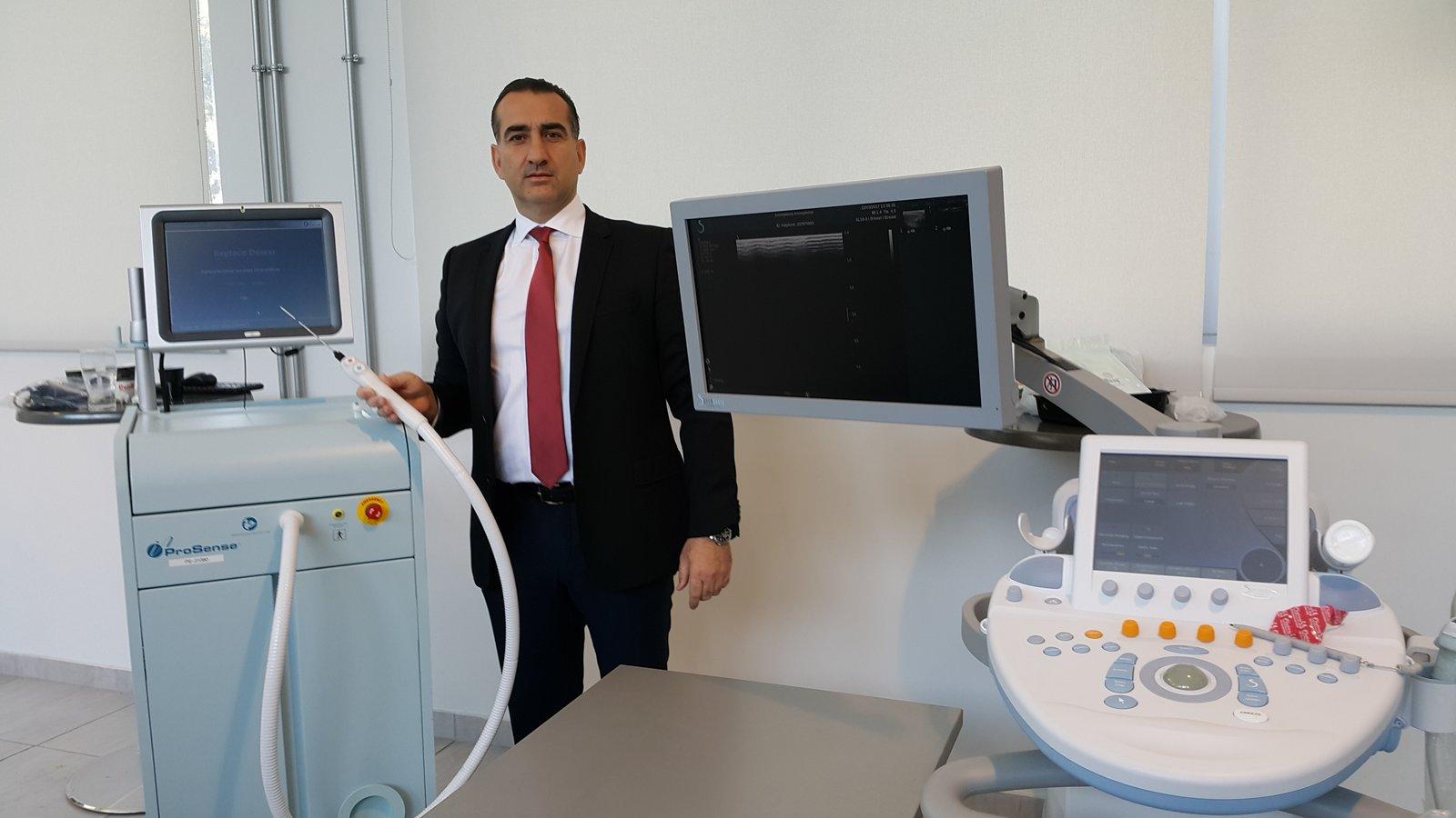 Cryoablation - Γεώργιος Παπάζογλου Χειρουργός Μαστού, Διευθυντής Γ' Κλινικής Μαστού ΜΗΤΕΡΑ