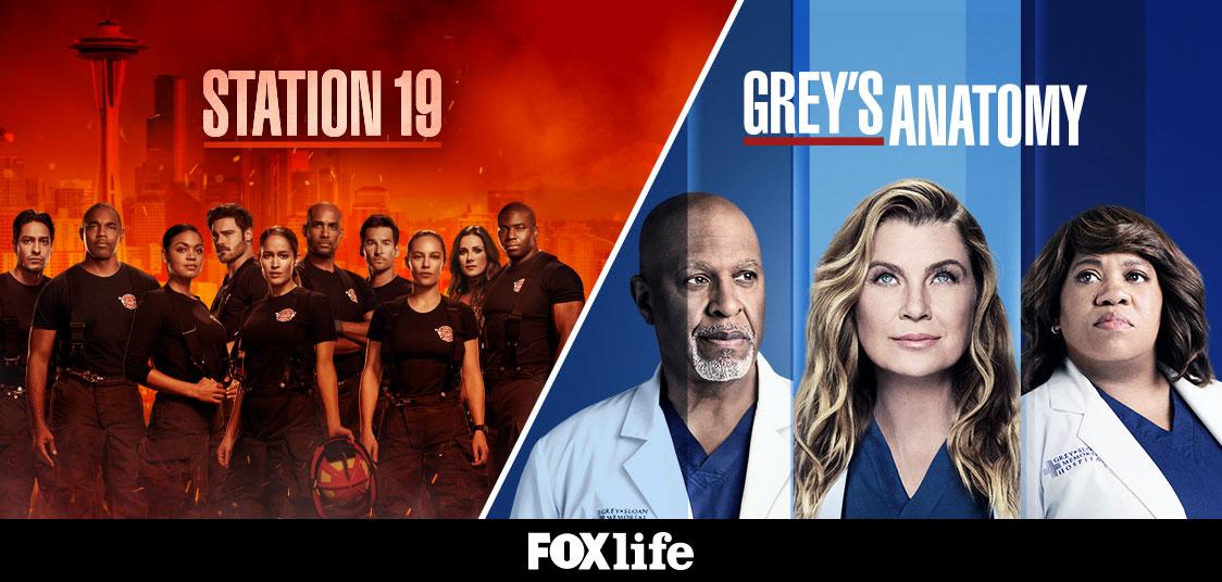 «Station 19» και «Greys anatomy» επιστρέφουν με διπλή πρεμιέρα στο Fox LifeΕΠΙΣΤΡΕΦΟΥΝ ΜΕ ΔΙΠΛΗ ΠΡΕΜΙΕΡΑ ΣΤΟ FOX LIFE!