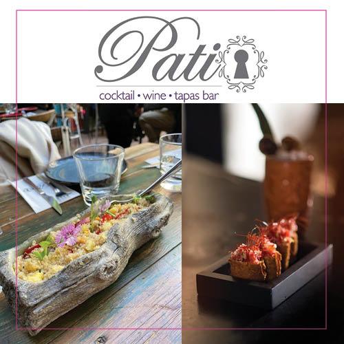Patio Cocktail WineTapas Bar